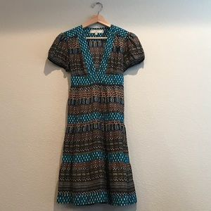 Anthropologie What Goes Around Comes Around Dress
